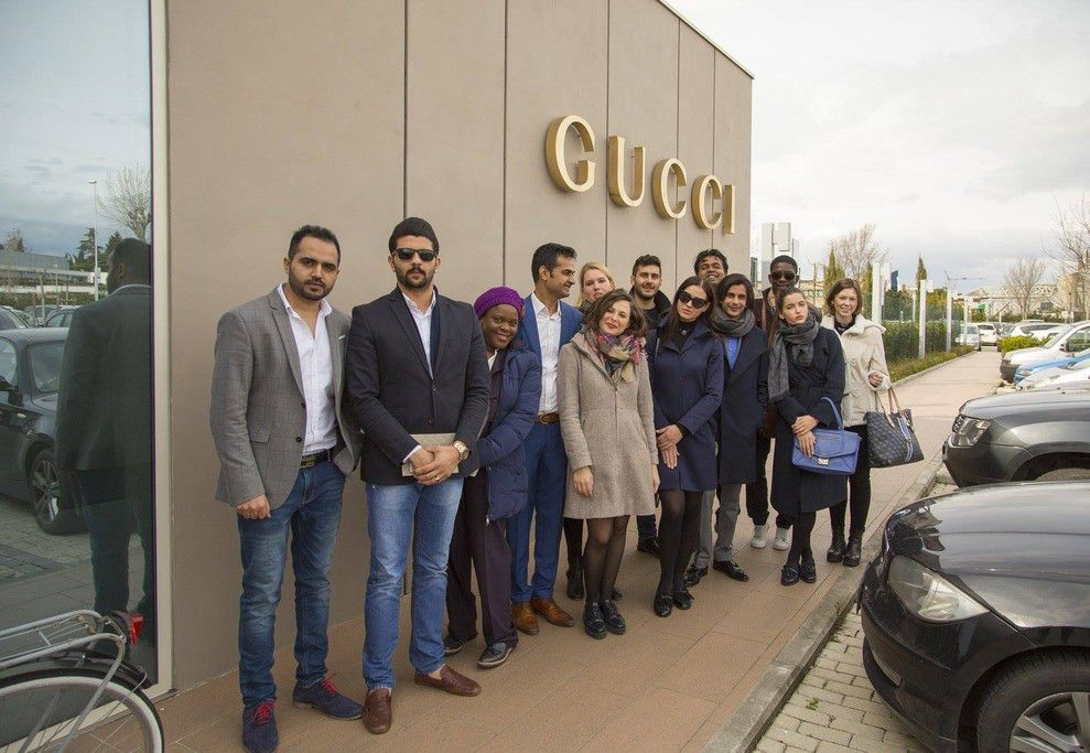 Visit to GUCCI
