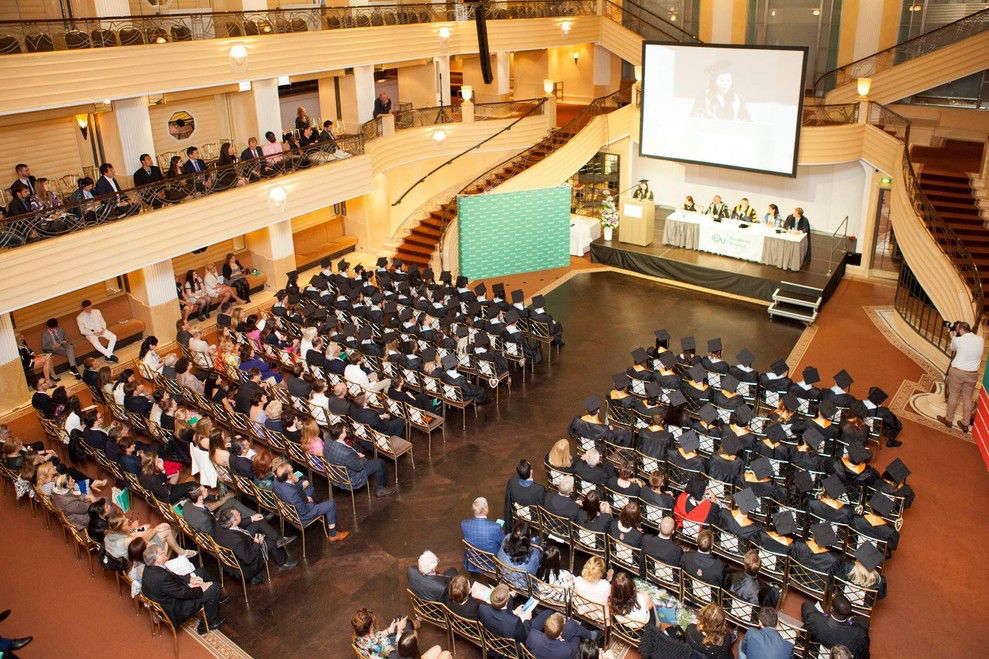 EU Munich Commencement 2016: Ceremony