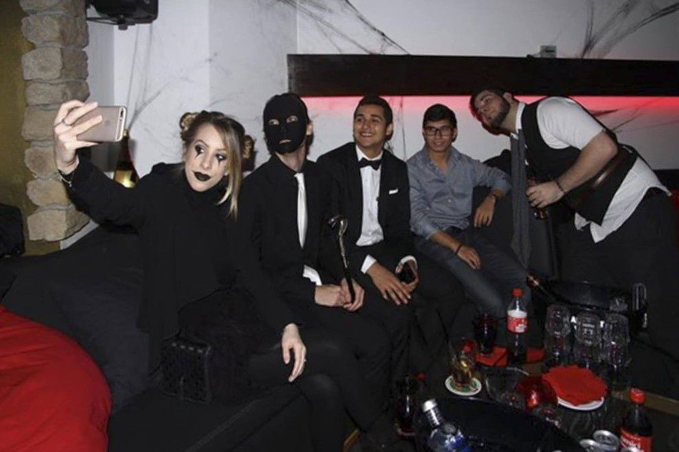 Halloween party 2015 Montreux