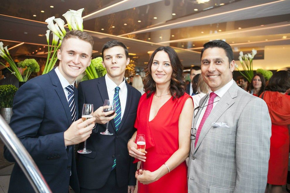 EU Switzerland Commencement 2015: Cocktail Reception