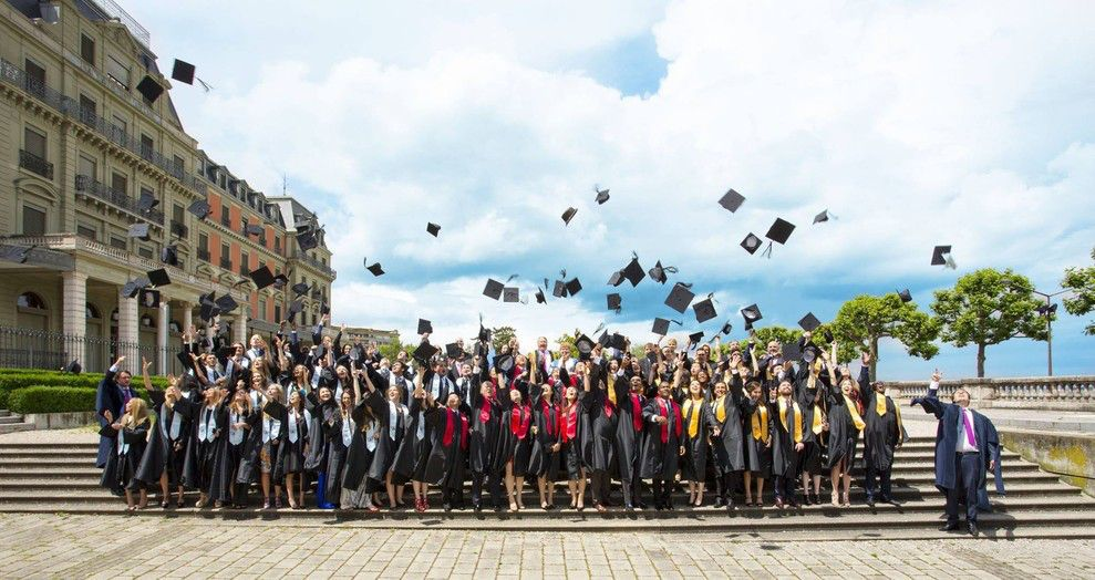 EU Switzerland Commencement 2015: Class of 2015