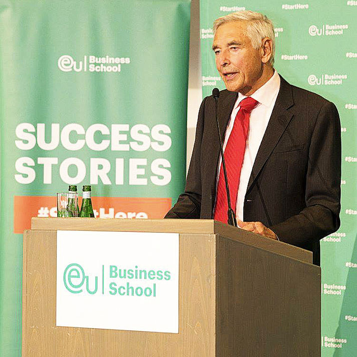 Peter Brabeck-Letmathe, Chairman Emeritus of Nestle in Munich