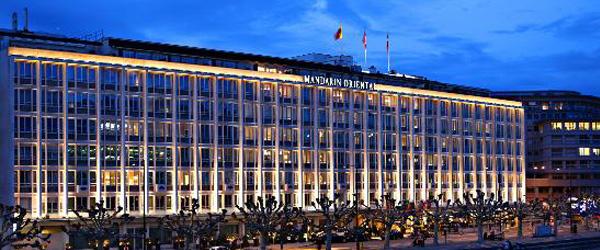Visit to Mandarin Oriental, Geneva, By Drupad Madan Diwan