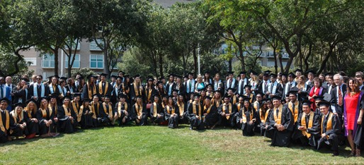 Commencement Ceremony 2014: Barcelona