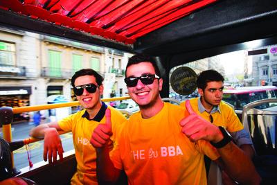 European-University-Barcelona-Orientation-Bus
