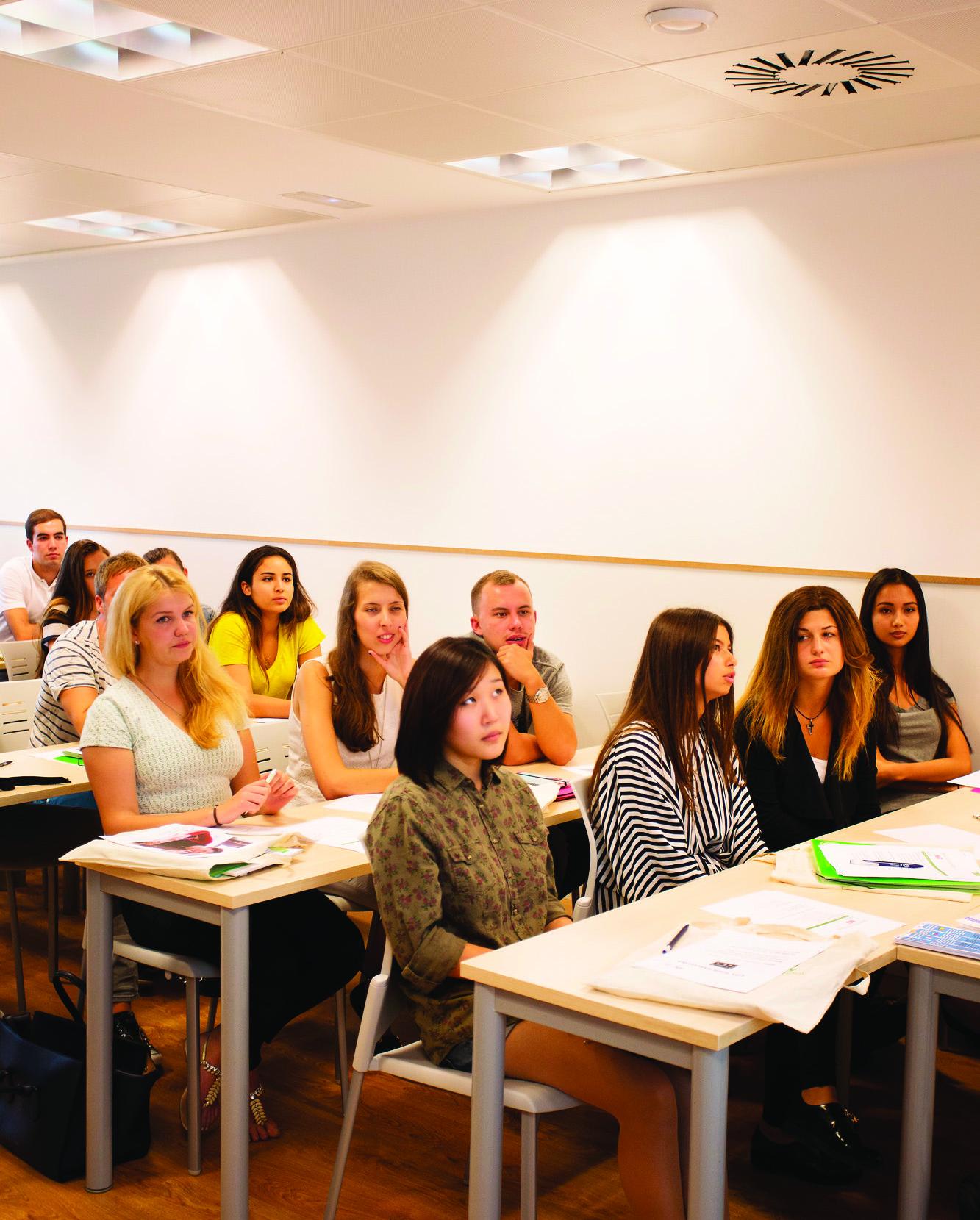 European-University-Barcelona-Orientation-class