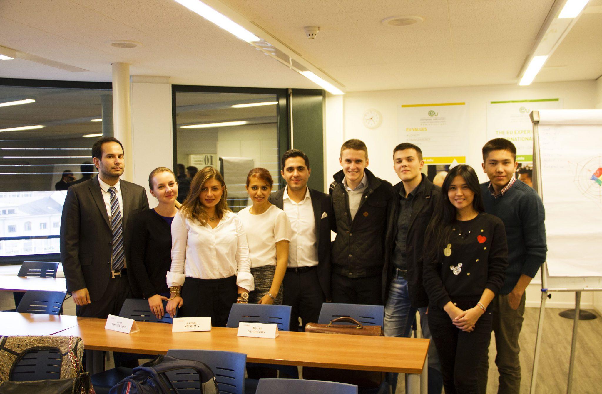 Looking Inwards with Interiman: Career Workshops at EU Switzerland