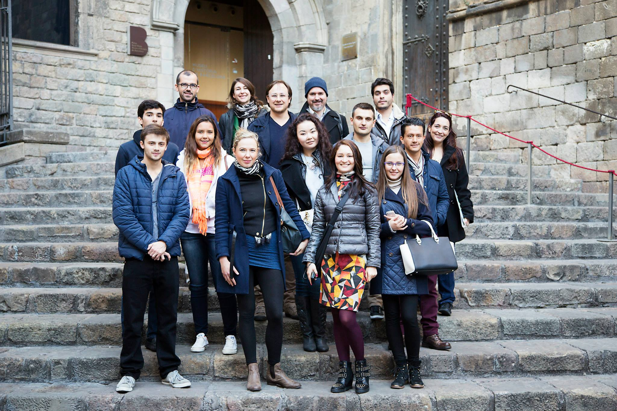 New MBA Students Tour One of Barcelona's Coolest Neighborhoods