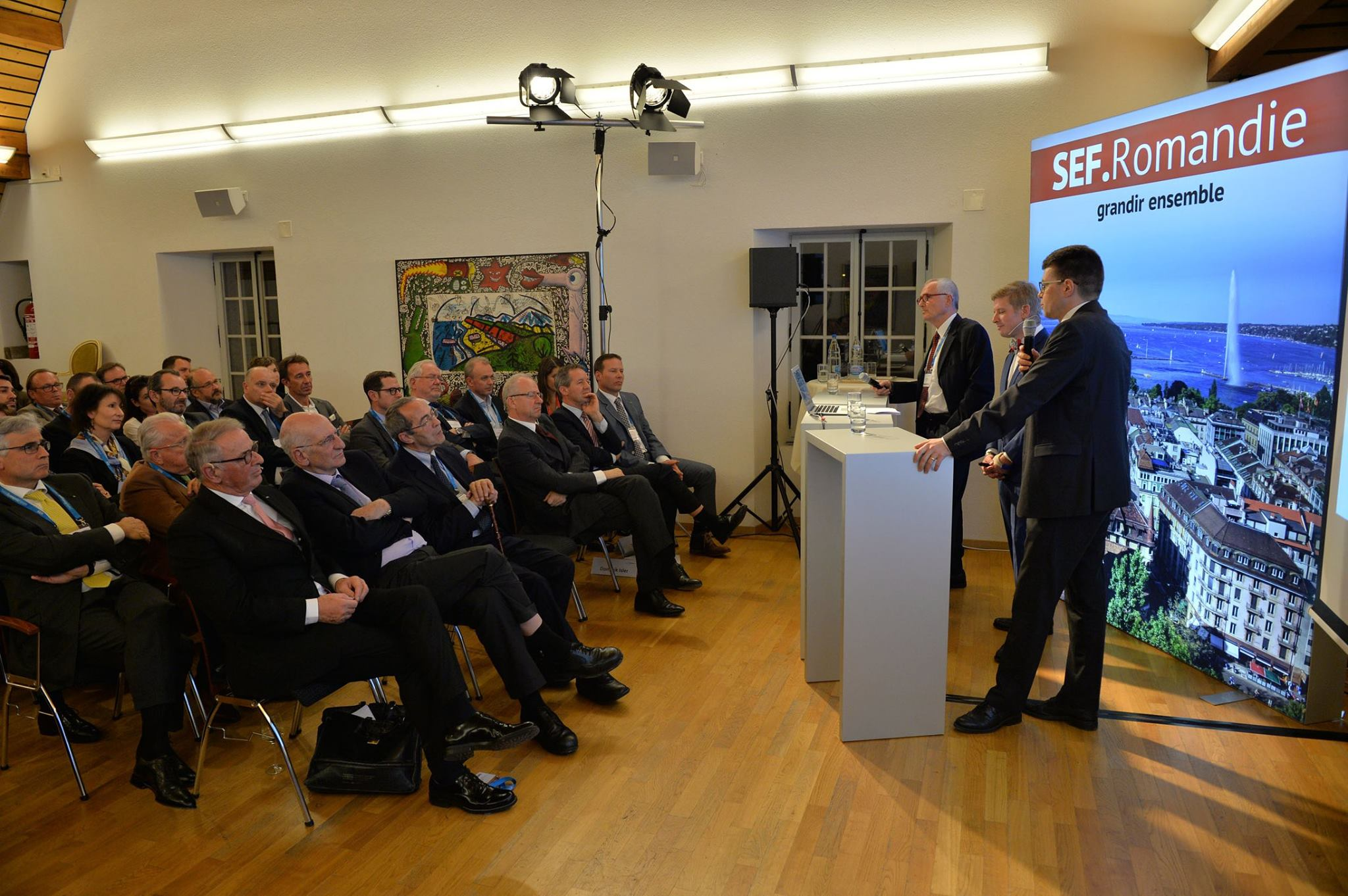 EU Business School Hosted the Swiss Economic Forum Kick-off Romandie Event in Yvorne