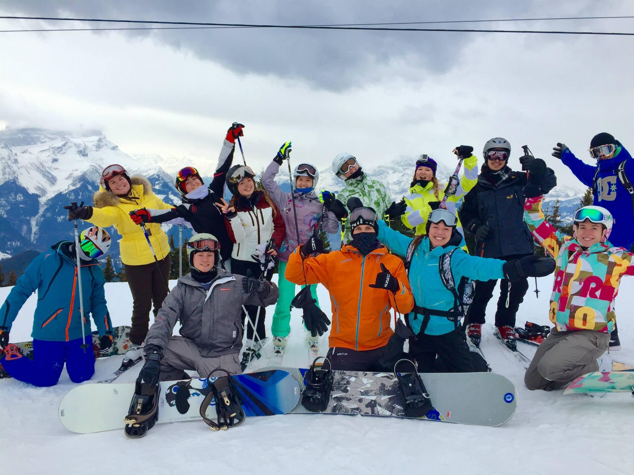 2015 Ski Trip to Villars: Student Stories