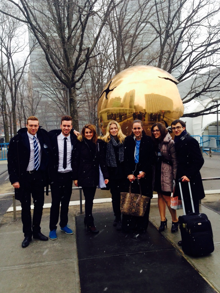 Students Running the World for a Week at the U.N. Headquarters in New York