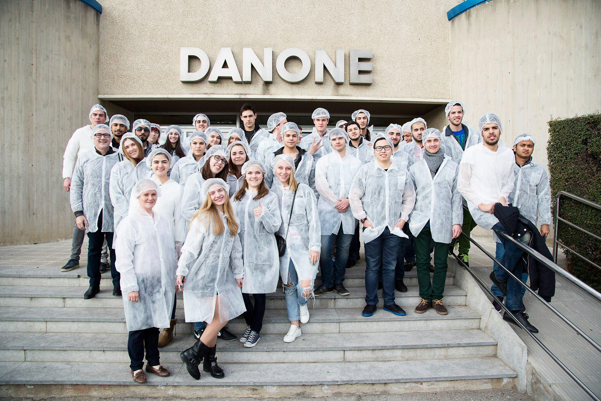 Industrial Visit: Danone Factory