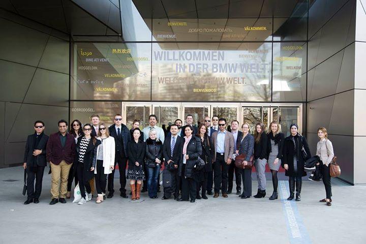 The EU Online MBA On-Campus Week Munich 2015