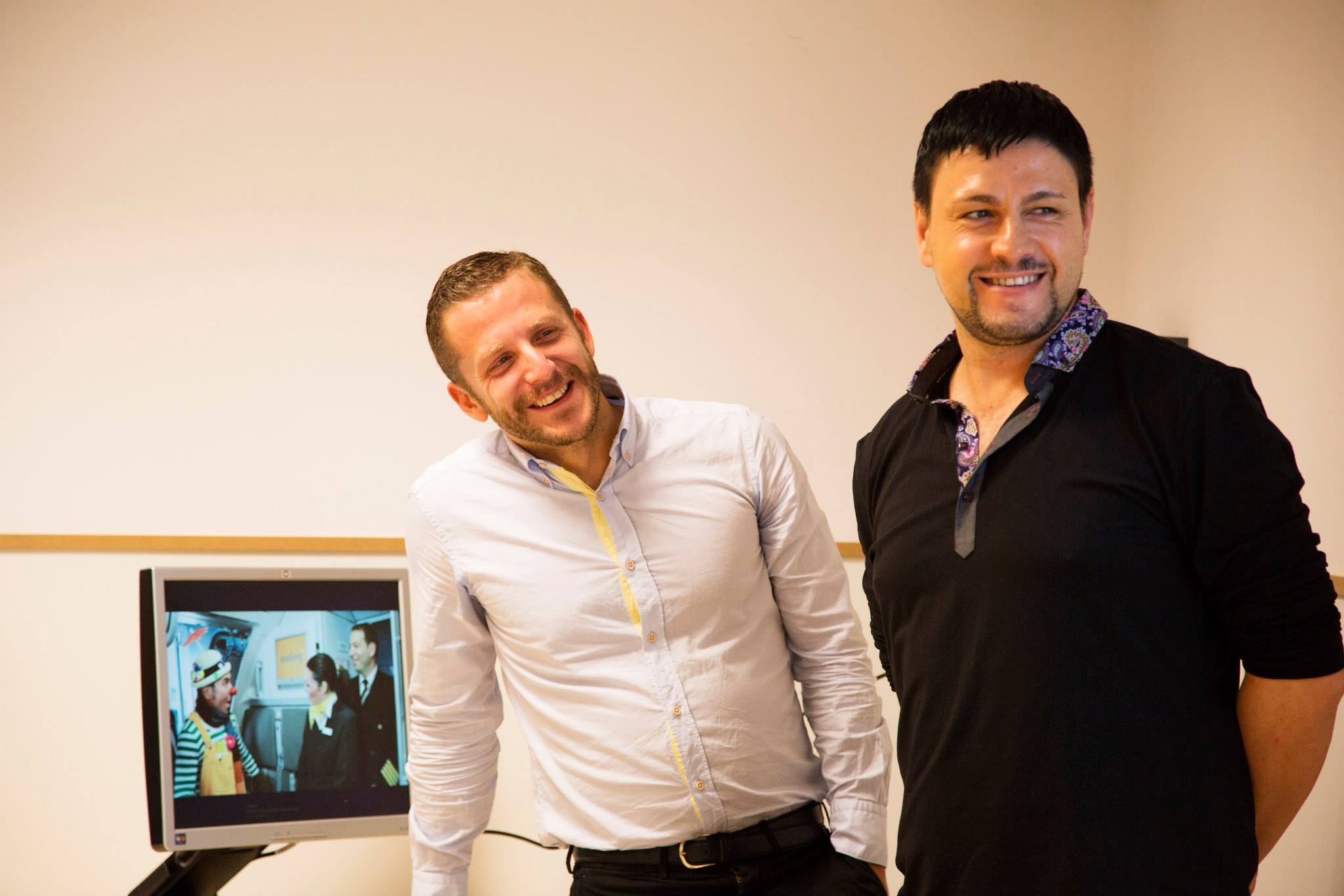 Matteo Nebiolo and Oscar Santamaria: Creativity in the Aviation Industry