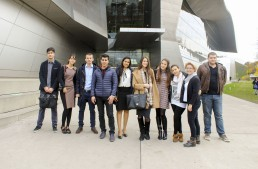 Hitting the Road: EU Munich MBA Students Visit the BMW Factory