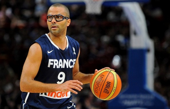 Tony Parker leading the French national team Tonyparker