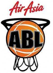 The ABL logo, sponsored by airline company Air Asia