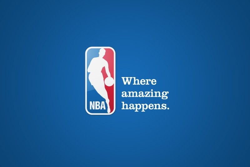 The official logo of the NBA
