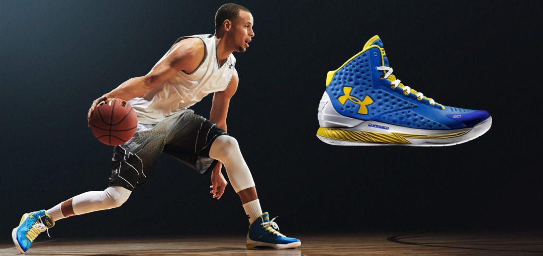 Under Armour brand ambassador – NBA Star Stephen Curry