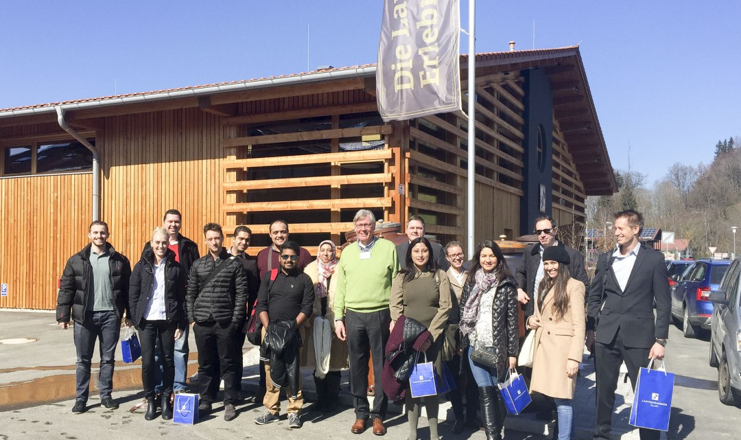 Industrial visits at the Online MBA in Munich