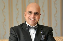 Dr. Seetharaman, CEO of Doha Bank and EU Alumnus, Speaks in Geneva