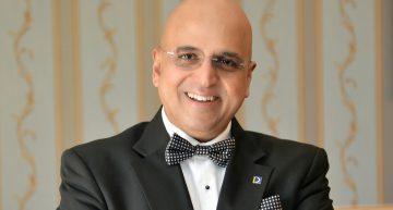 Dr. Seetharaman, CEO of Doha Bank and EU Alumnus, Speaks in Geneva
