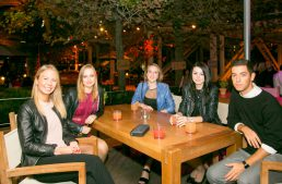New Students Meet for the Annual EU Welcome Drinks
