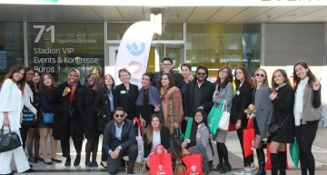 Switzerland Students Visit Forum Cinfo Job Fair: A Journey in International Cooperation