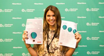 Networking and Career Advice at the 2018 EU Careers Fair