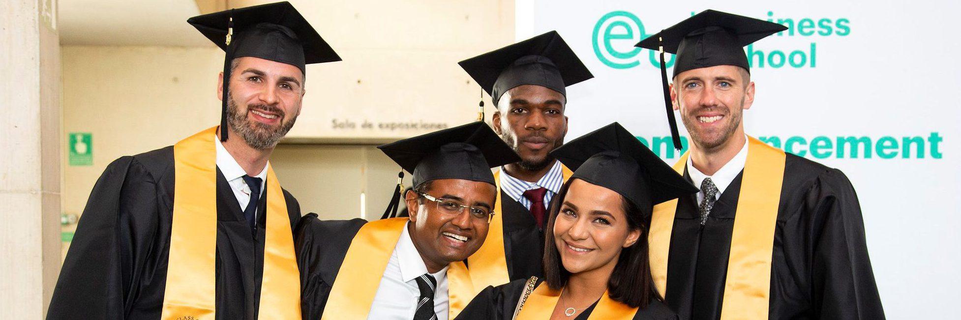 EU Business School commencement ceremony