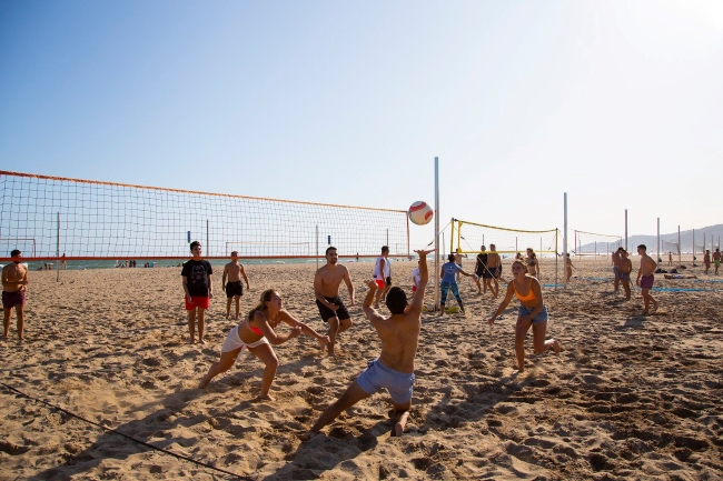 volleyball in barcelona