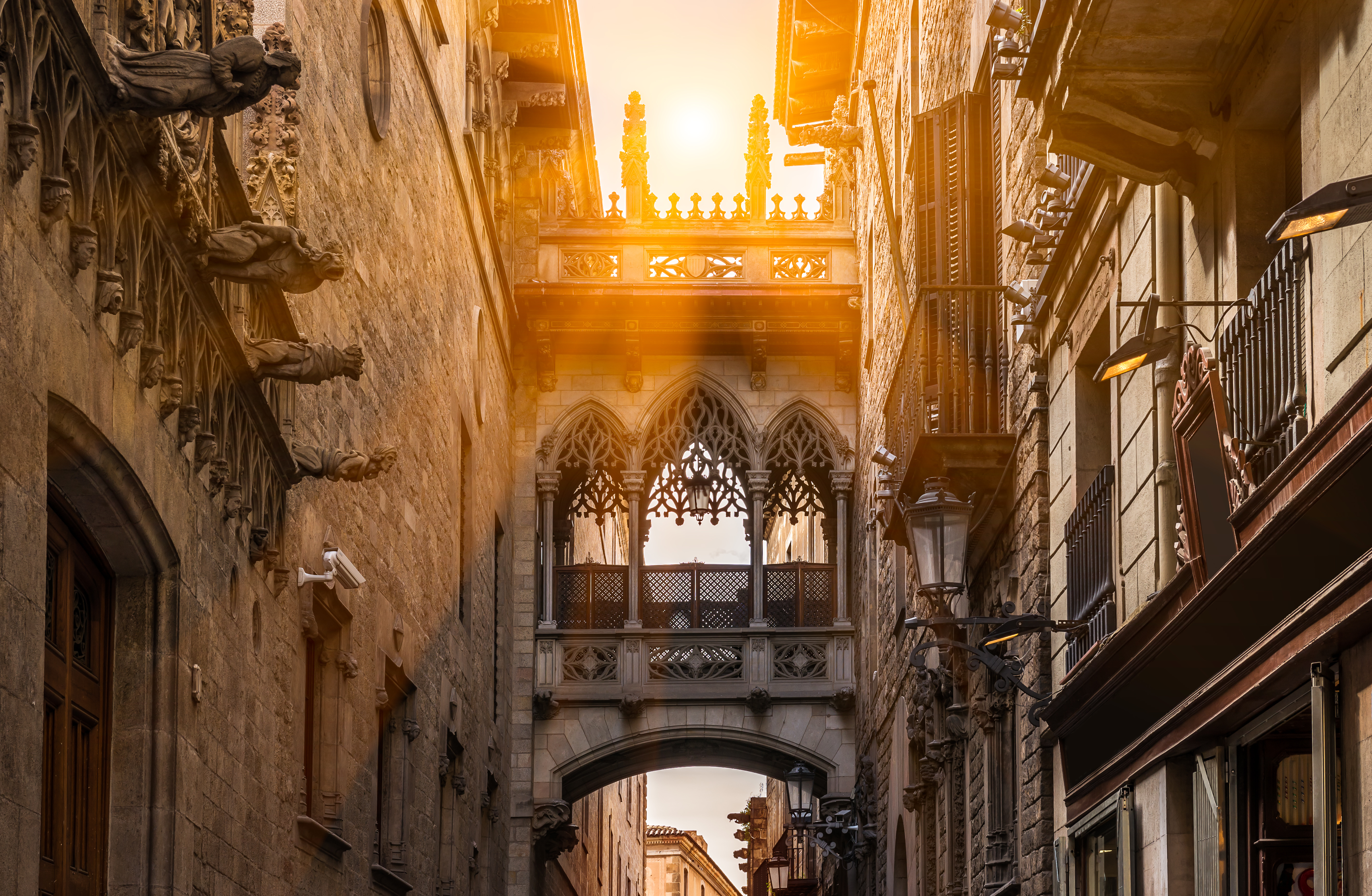bridge barcelona spain