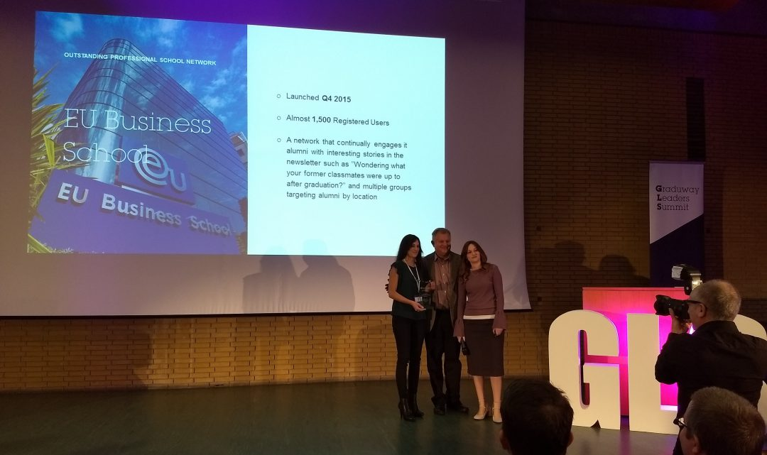 The EU Alumni Hub Honored by Graduway