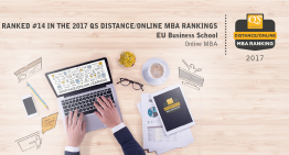 EU's Online MBA Ranked 14th in the World by QS Top MBA