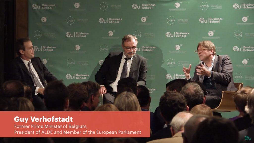 Guy Verhofstadt European Union Opportunities