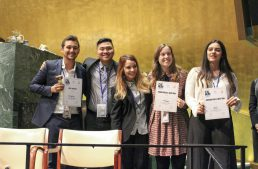 EU Students Recognized at CWMUN New York!