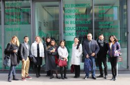EU's Online MBA Students Head to Munich for On-Campus Week