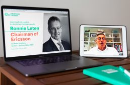 Insights From Global Business Leader Ronnie Leten, Chairman of Ericsson