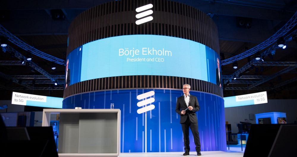 CEO of Ericsson, Börje Ekholm