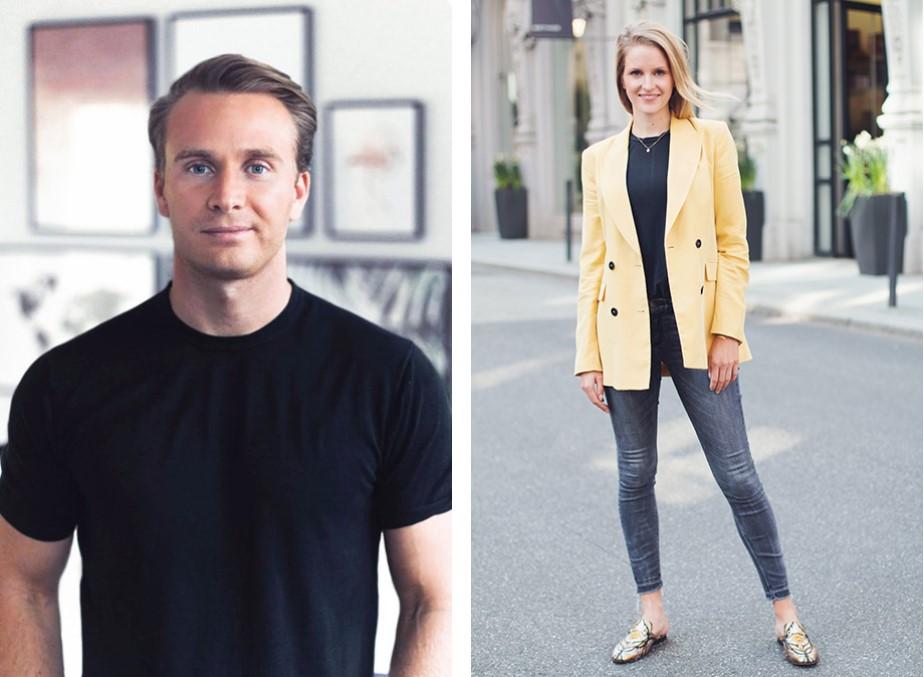 Lara Daniel and Christoph Kastenholz