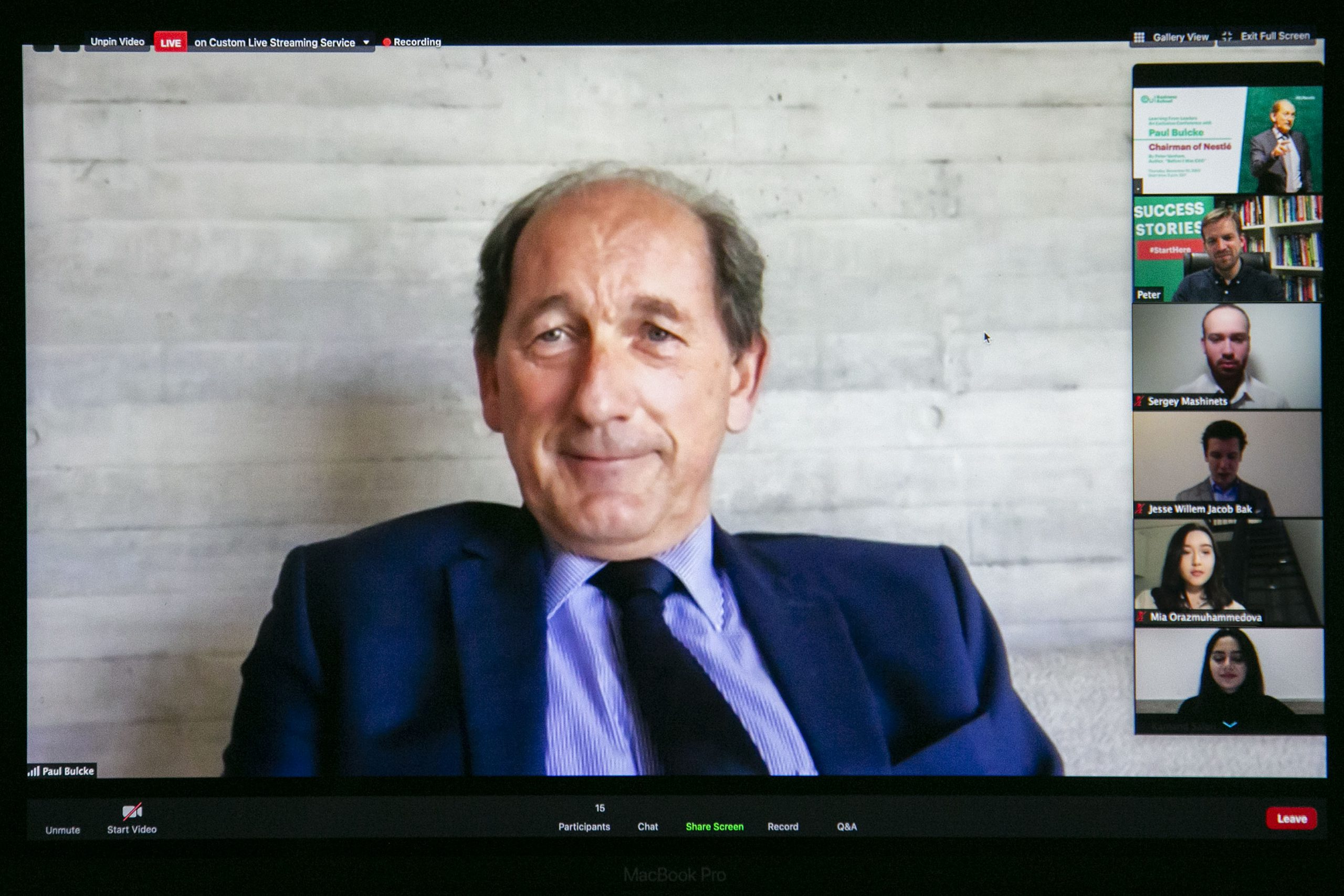 Paul Bulcke - Nestlé
