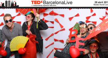 TEDxBarcelona Live – MBA Student Thomas Miessen on The Future You